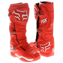 Botas Fox Comp 8 Roja Mx 2016 Motocross Atv Talla 8