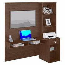 Mesa Para Computador Suspensa Escrivaninha Agáve - Colibri