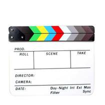 Claqueta Cromatica Para Cine