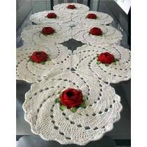Caminos De Mesa A Crochet - Reynas Tejidos Artesanales