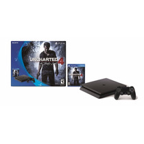 Consola Ps4 Slim + Juego Uncharted 4 + Joystick