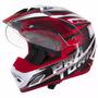Capacete Moto Cross Pro Tork Th-1 Vision Adventure Trilha
