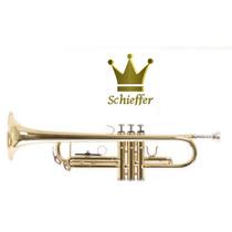 Trompete Bb Schieffer Laqueado (dom Instrumentos Musicais)