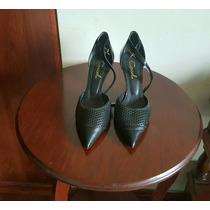 Impecables Zapatos Cuero. Gacel 37.