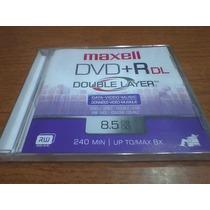 Dvd+r Maxell Dual Layer 8.5gb 240 Min 8x