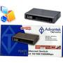 Switch Gigabit Advantek 8 Puertos 10/100/1000 Netpro Serie