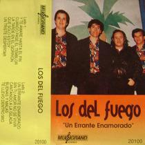 Cumbia Santafesina-los Del Fuego-cassette-un Errante Enamora