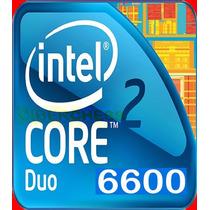 Lote Intel 3 Core 2 Duo Procesador E6600 X2 Y E7500 X1 Usado