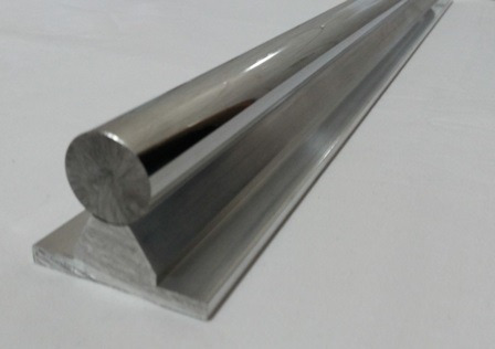 Guia linear eixo retificado perfil de alum nio cnc r 35 - Guia de aluminio ...