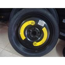 Estepe Fino Vw 5x112 Pneu 125/70/18 Jetta Tiguan Passat Golf