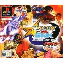 Patch - Capcom Vs Snk Millenim Pro- Psp-ps1- Ps2 -pc