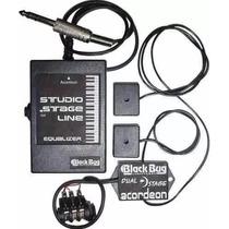 Captador Duplo Para Acordeon - Black Bug - Dual Master