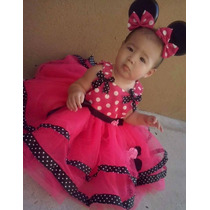 Vestido De Minnie Super