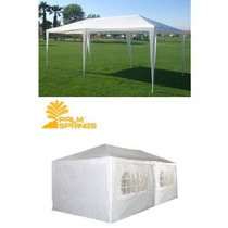 Palm Springs 10 X 20 White Party Carpa Gazebo Pabellón Con L