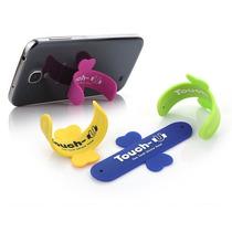 12 Soportes De Silicon Touch U Para Telefono Iphone Nuevos!