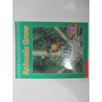 Livro Em Inglês - Animals Grow