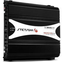 Módulo Amplificador Stetsom Stereo V800.4 4 Canais 800w Rms