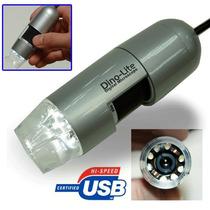 Tb Microscopio Dino-lite Digital Microscope (usb2.0) 10x~200