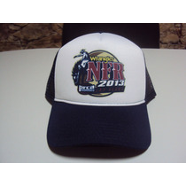 Boné Rodeio Wrangler Nfr 2013 Las Vegas Trucker Frete Grátis