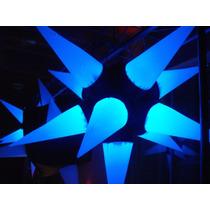 02 Sputnik Estrela Preto E Branco Com 11 Pontas, Dj