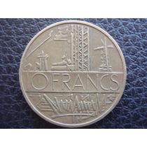 Francia - Moneda De 10 Francos, Año 1976 - Muy Bueno