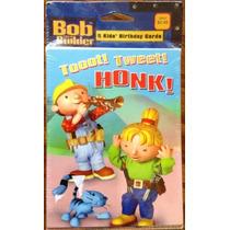 Bob El Constructor 5 Pack De Tarjetas De Cumpleaños Infanti