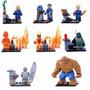 Kit Quarteto Fantástico - Fantastic 4 - 8 Minifigures