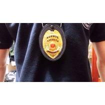 Distintivo De Peito, Dourado, Escolta Armada