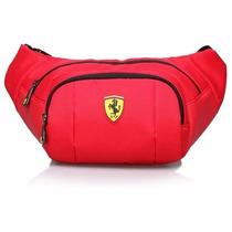 Sport Pouch Ferrari-negro Tf020b-r Rojo