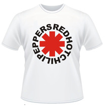 Camiseta Red Hot Chili Peppers Bandas De Rock Ramones Legião