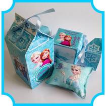 Kit Festa Frozen Personalizado - Todos Os Temas / Caixa Bala