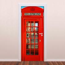 Adesivos Para Portas, Infantil, Personagem, Paisagem, London