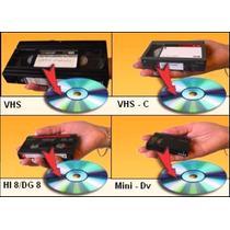 Paso Tus Películas Beta Vhs Hi8 Minidv Cassettes A Dvd