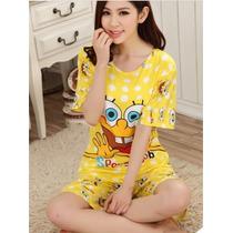 Pijama Do Bob Esponja Frete Gratis!