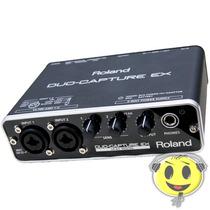 Interface Roland Ua 22 Placa De Som Duo Capture - Kadu Som