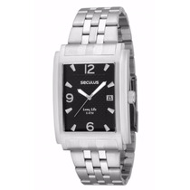 Relógio Seculus Long Life 2 Anos Garantia 60608g0spna1