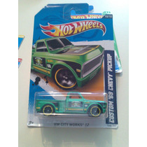 Hot Wheels De Coleccion 2012 Custom 69 Chevy Pickup Bvf