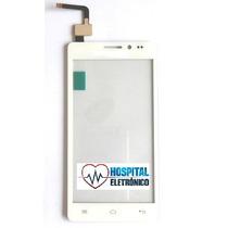 Tela Touch Screem Vidro Celular Multilaser Ms5 5 Branco Rj