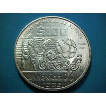 Mexico Moneda 100 Pesos Mundial De Fut Mexico 86 Fecha 1985