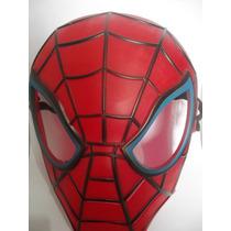 Bonecos Com Mascara Homem Aranha, Homem De Ferro E Huck.