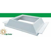 Kit 12 Laje Solar Ecolaje Lajota Suporte- Bloco Tijolo Vidro