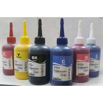 6 X 100ml Tinta Epson Pigmentada Inktec R290 T50 L800