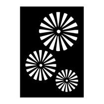 Stencil Adhesivo P/pintar Psique Símbolo 2 70x