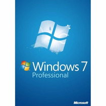 Windows 7 Professional 32/64 Bits S/ Mídia Oem