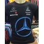 Camisa Camiseta Formula 1 F1 Mclaren Mercedes Benz Petronas