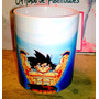 Taza Mágica Verde Goku Genkidama Dragon Ball