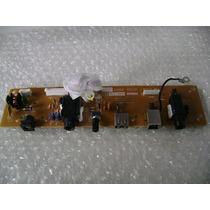 Placa Dos Jacks (plug Fonte) Yamaha Psr-s550b E Psr-s500 Nov