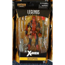 Deadpool Marvel Legends Serie X-men Figura Nueva Y A La Mano