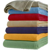 Cubrecama Nido De Abeja Colores 2 1/2 Pl 230 X 250 Cm