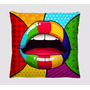 Almofadas Divertidas Coloridas Pop Art Decoradas
